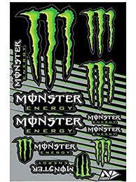 amazon style n30 1045 universal sticker kit monster