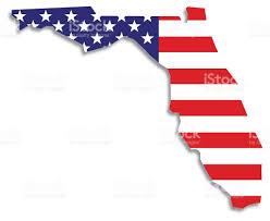 Flags Of Florida Usa Flag Florida Map Stock Vector Art 522883753 Istock
