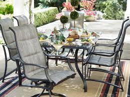 7 Piece Round Patio Dining Set - patio 46 patio dining 203307751 round 5 piece patio dining