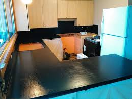 Painting Kitchen Countertops updating kitchen countertops with faux finish paint hometalk