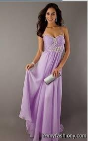 lavender chiffon prom dress 2016 2017 b2b fashion