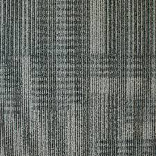 Carpet Tiles by Eurotile Park Avenue Graphite Loop 19 7 In X 19 7 In Carpet Tile