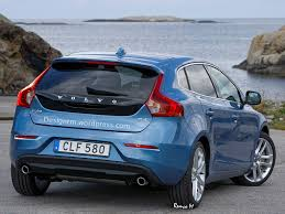volvo hatchback 2015 volvo v40 facelift rendering stays truthful to brand u0027s identity