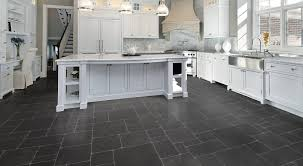 High Gloss Tile Effect Laminate Flooring Kitchen Flooring Groutable Vinyl Plank For Slate Look Grey Matte