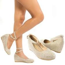 gold wedge shoes for wedding wedding flats http www shopzoey wedding flats style 800 22
