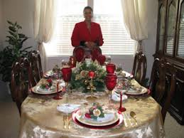 dining room table setting for christmas table setting for the holidays cuisine noir magazine