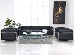 Le Corbusier LC  Seater Sofa BlackLe Corbusier Sofa Grande LC - Corbusier sofas
