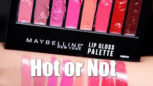 maybelline lip palette or not youtube