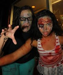 lurching zombie spirit halloween river scene magazine zombies invade downtown lake havasu city