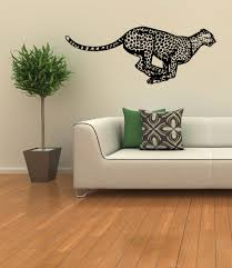 popular home design with leopard wall decor home designs ideas image of leopard wall decor at living room