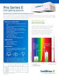 lead lighting system login pro series e led lighting systems lumigrow pdf catalogue