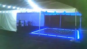 Party Canopies For Rent by Led Dance Floor Canopy And String Lights Rental For You Next Party