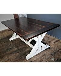 chalk paint farmhouse table memorial day sale farmhouse dining table wood farm table trestle