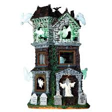 lemax spooky town lemax spooky town ghostly manor 65122 american sale