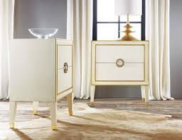 White And Gold Home Decor Nightstand Mesmerizing White And Gold Nightstand Awesome On