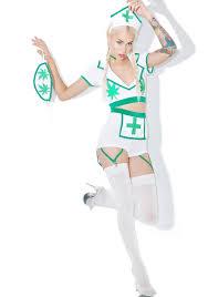 weed nurse costume set dolls kill