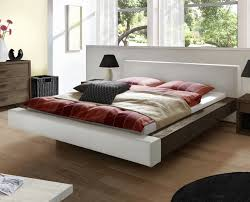 Schlafzimmer Bett Buche Bett Schwebend Mit Echtleder Und Massivholz Vilar