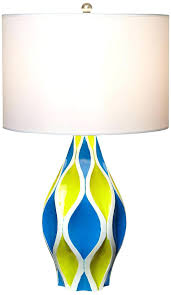Blue Table Lamp Aqua Blue Table Lamps Aqua Blue Lamp Shade With Aqua Blue Table