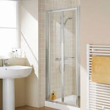 Frameless Bifold Shower Door Lakes 1000mm Semi Frameless Bifold Shower Door Lkvb1000 05