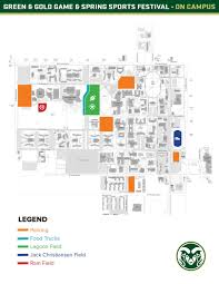 Oregon State Campus Map by The Official Athletics Site Of Colorado State University