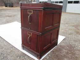 Mahogany Filing Cabinet Antique Globe Wernicke 2 Drw Mahogany C 1905 Filing Cabinet