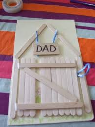 father u0027s day card my kid craft