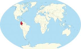 Columbia South America Map Colombia Location On The South America Map And Columbia World