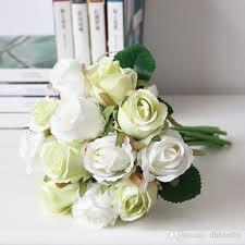 silk flowers for weddings 2017 silk flowers bridal wedding bouquets wedding table