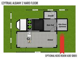 Tent Trailer Floor Plans by The All New Albany Z Off Road Camper Trailer By Ezytrail