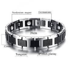 germanium power bracelet images Stylish tungsten bio energy magnetic therapy bracelet g3 series jpg