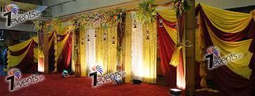 wedding backdrop cost 7events wedding planner birthday party baby naming weddings