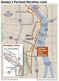 Traffic Map Portland by Portland Marathon Will Affect Traffic On Three Portland Bridges