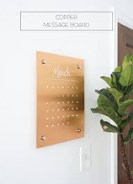 Copper Decorations Home Wall Copper Message Board