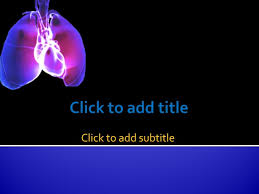 powerpoint design lungs heart and lungs free medical powerpoint template download youtube