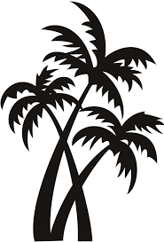 palm tree svg 33 best beaches images on pinterest silhouette design clip art