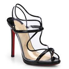 black high heels with red bottoms christian louboutin cataclou 60