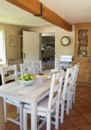 Farm Table Dining Room Fabulous White Country Kitchen Table