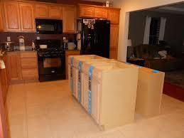 building kitchen island base cabinets