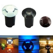 Led Outdoor Garden Lights Dc12v 3 Way Led Garden Lights Ip67 Buried Ls Outdoor Ip67 Led
