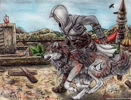 untamed eagle and wolf by cally on deviantart
