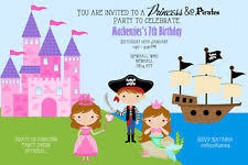 princess and pirate party ebay