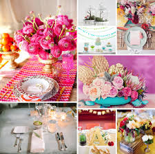 Engagement Decorations Ideas 20 wedding table decor ideas wedding tables colorful weddings