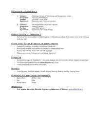 exle of simple resume the passions of in high thought an essay on