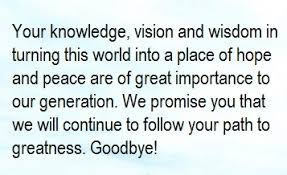 farewell message for a and mentor owlcation