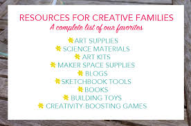 tinkering science and art supply resources from tinkerlab com