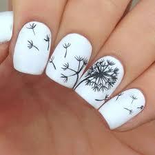fabulously floral nail art designs dandelion nail art