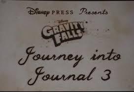 black light limited edition gravity falls journal 3
