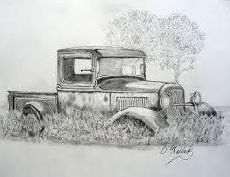 Vintage Ford Truck Art - 33 u0027 ford model b farm pickup truck 8x10 by bwald1 on deviantart