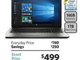 black friday deals for laptops sam u0027s club black friday ad leaks with hp laptop desktop deals zdnet