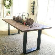 Kitchen Table Top Ideas by Build A Dining Table U2013 Rhawker Design